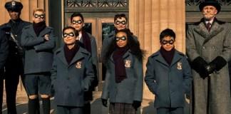 A equipe The Umbrella Academy