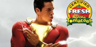 shazam Rotten Tomatoes