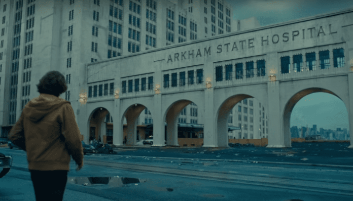 Asilo Arkham no filme Coringa