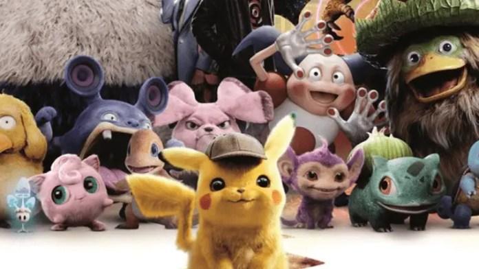 Pokémons em Detective Pikachu