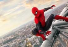imagem poster homem-aranha longe de casa