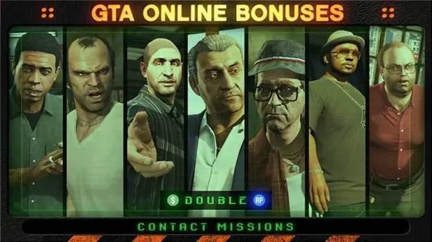 GTA Online - Missões de Contato