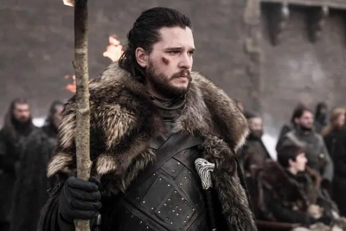 Jon Snow Game of Thrones 8x04