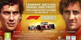 F1 2019 - Senna e Frost