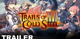 Capa do trailer de The Legend of Heroes: Trails of Cold Steel III