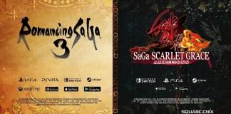 Romancing SaGa 3 e SaGa: Scarlet Grace Ambitions