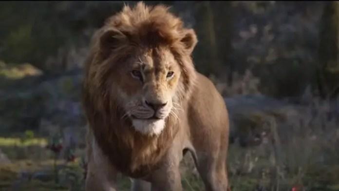 Simba em O Rei Leão
