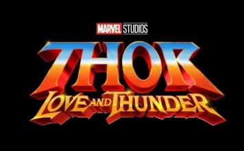 logo de thor: love and thunder