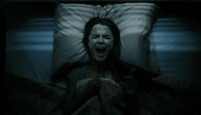 Imagem de Keri Russell no filme Antlers, que será chamado de Espíritos Obscuros no Brasil