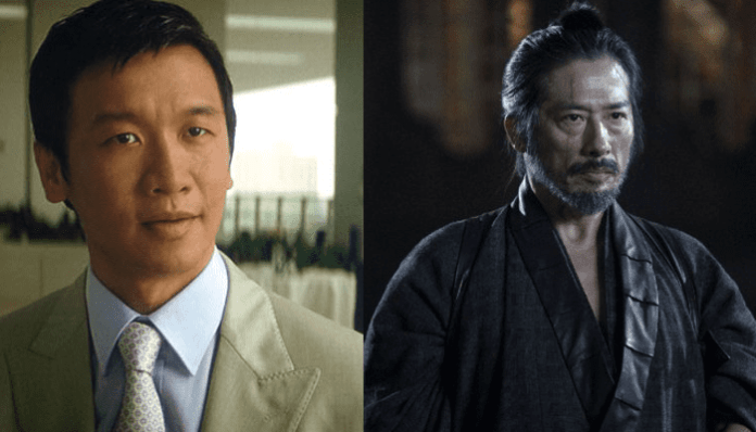 Shang Tsung e Scorpion mortal kombat