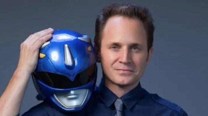 David Yost como Ranger Azul