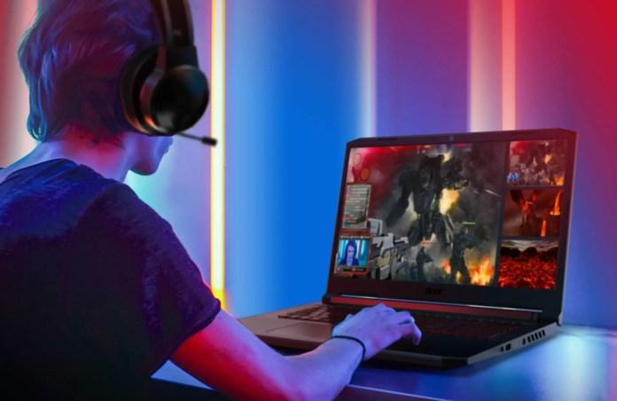 Acer 5 nitro imagem promocional