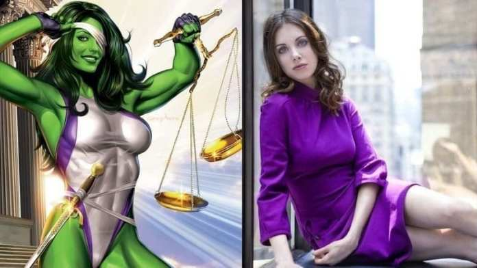 Alison Brie She-Hulk