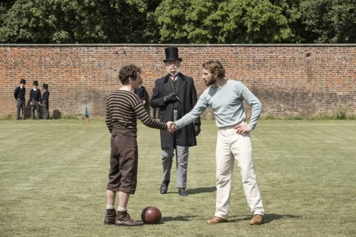 Imagem promocional da minissérie The English Game