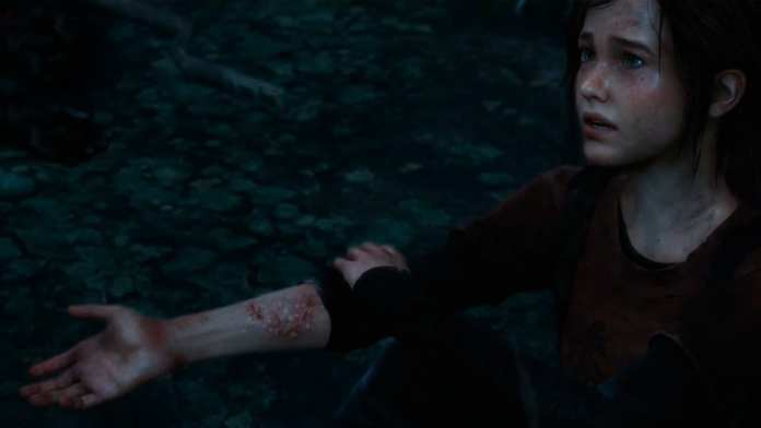 ellie infectada em The Last of Us