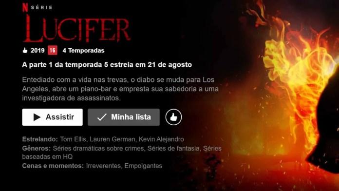 Lucifer 5ª temporada data de estreia