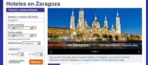 Alojamiento y Hoteles en Zaragoza