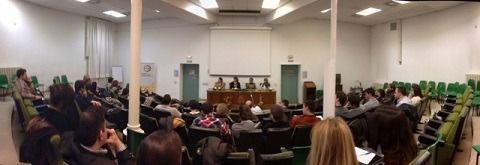 Salon actos de la facultad de economicas de Zaragoza