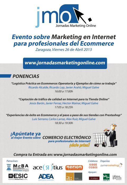 Cartel de las JornadasMarketingOnline