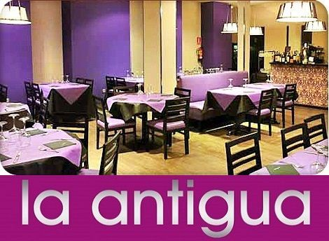 la antigua restaurante en Zaragoza