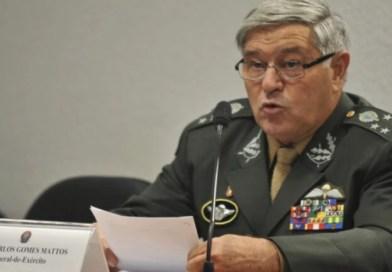 Presidente do Tribunal Militar dá aviso: 'Estão esticando a corda'