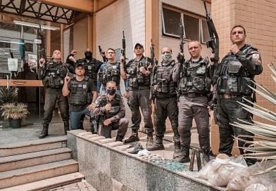 Policiais militares do 38º PBM de Três Rios (RJ) apreendem cerca de 9 quilos de cocaína