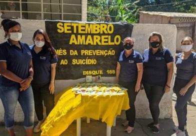 CRAS de Angustura realiza caminhada em prol da prevenção e combate ao suicídio
