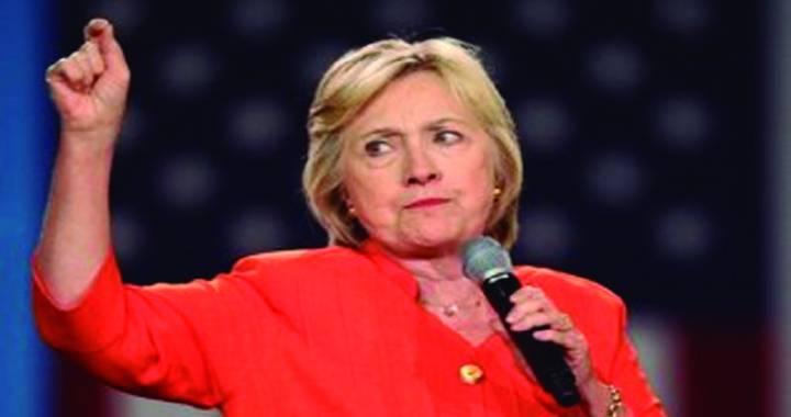 Hillary deseja sucesso a Trump em pronunciamento em Nova York