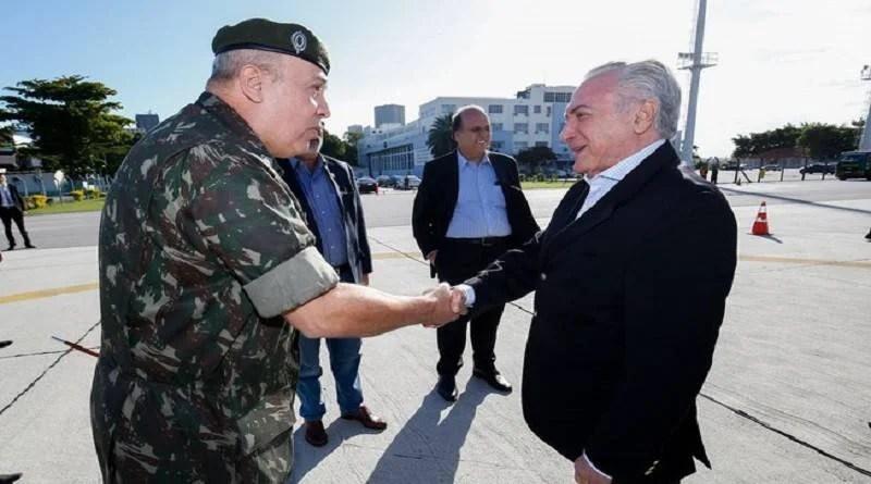 Temer decide decretar intervenção das Forças Armadas na segurança do Rio