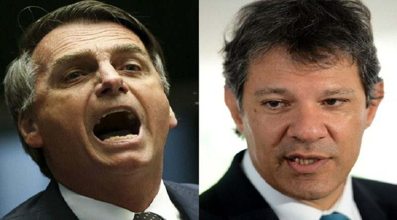 Ibope: Bolsonaro mantém liderança, Haddad se consolida em segundo lugar