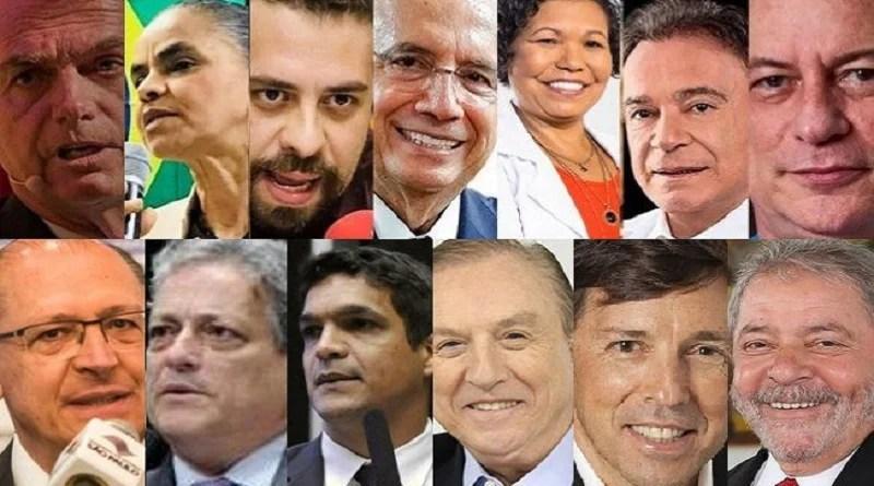 Datafolha: Bolsonaro lidera, Haddad, Ciro e Alckmin disputam segundo lugar