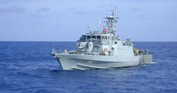 Navio-patrulha da Marinha é aberto à visitação em Cabedelo