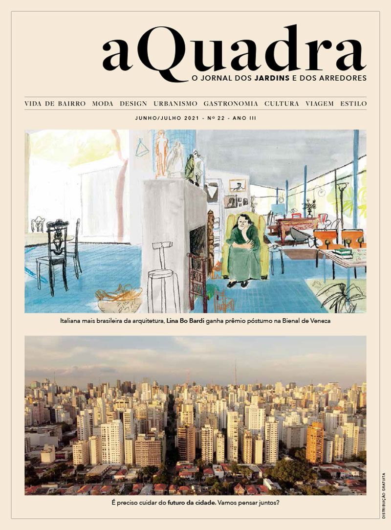 Jornal aQuadra - Jardins - ed.22 2021