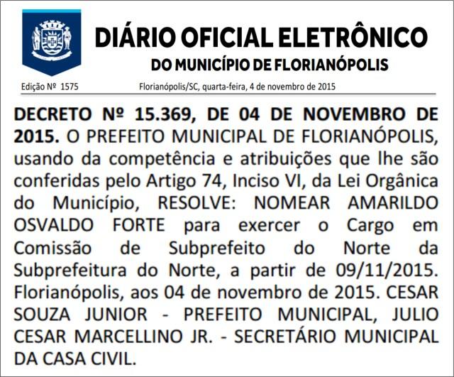 diario-oficial-municipio-florianopolis-subprefeito