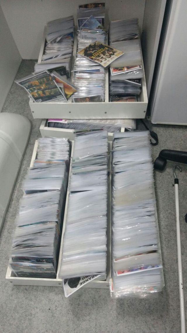 Prefeitura apreende 2 mil DVDs piratas em operação em Canasvieiras