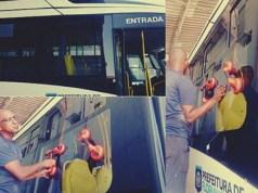 Consórcio Fênix coloca novas janelas em ônibus para evitar paralisação