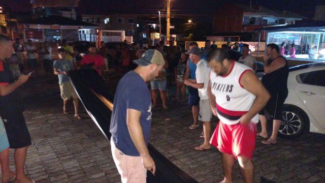 Defesa Civil contabiliza 122 famílias atendidas com lonas no Norte da Ilha