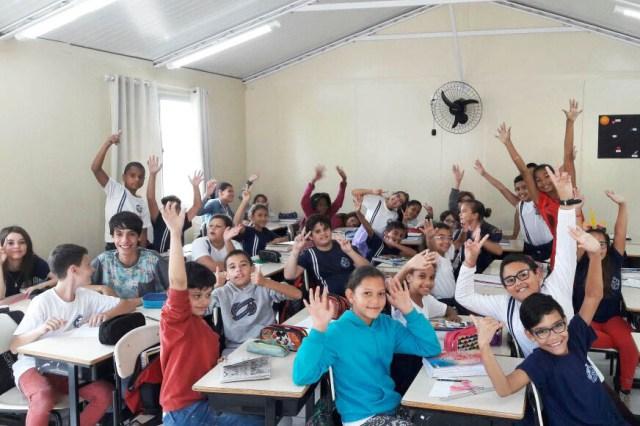 Alunos voltam às aulas na rede municipal de Florianópolis