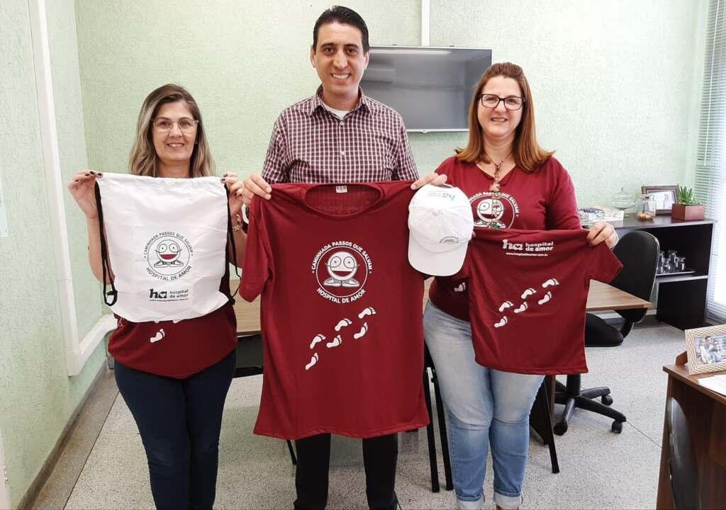'Caminhada Passos que Salvam' ocorre domingo, em Nova Odessa; kits estão à venda - JNO