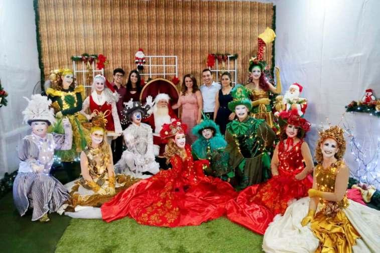 Um Sonho De Natal Apresentacao Dos Alunos Da Educacao Infantil E