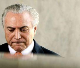 Temer fará pronunciamento às 15hs.  para responder a denúncia de Rodrigo Janot