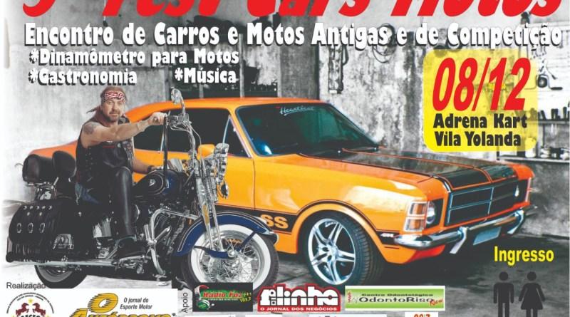 VEM AÍ, O 5º FESTCAR MOTOS NO KARTÓDROMO DE FOZ