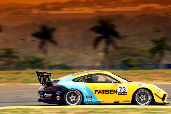 Porsche Cup: Enzo Elias faz a pole e vence em Goiânia