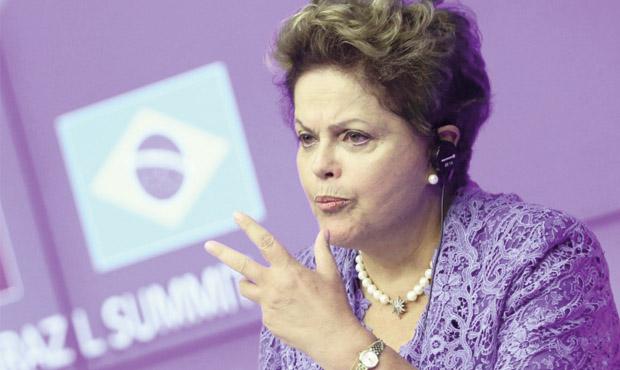 "Presidente Dilma Rousseff em Viña del Mar: ""O PMDB só me dá alegrias"" | Foto: Ricardo Stuckart/ABr"