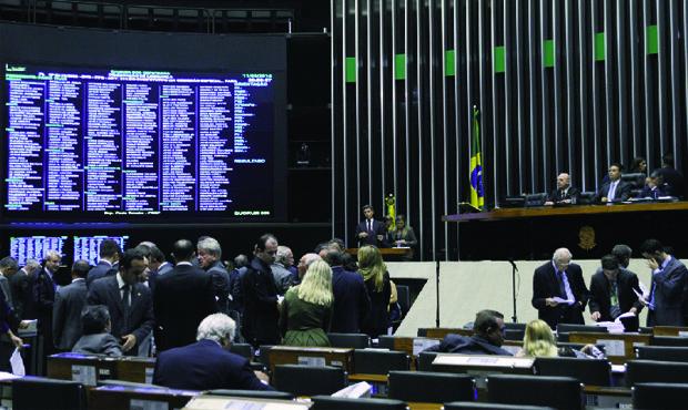 Parlamentares aprovam convocação de ministros para dar explicação no Congresso: retaliação a Dilma | Foto: Luís Macedo / Agência Câmara