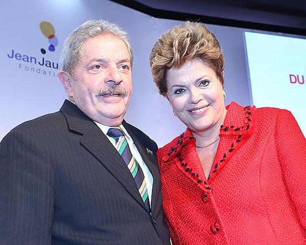 Lula e Dilma juntos