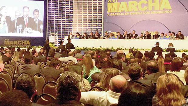 Prefeitos fazem mobilização em Brasília por mais recursos para os municípios com dificuldades de caixa