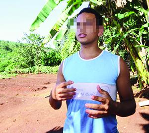 Após perder o pai, Olavo, de 17 anos, começou a usar drogas e quase morreu; agora, quer mudar de vida