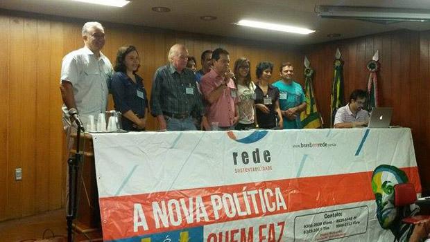 Declarações foram concedidas durante encontro da Rede Sustentabilidade na Câmara de Goiânia