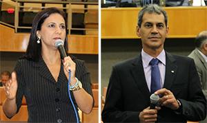 Líderes têm opiniões distintas a respeito de suspensão da votação de projeto. Fotos: Câmara de Vereadores/Divulgação